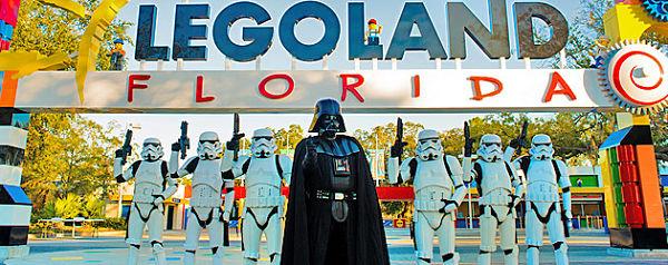 Le décor de Legoland est carrément impressionnant.