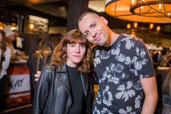 Nadine Pouliot et moi.
