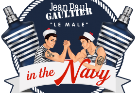Scrutez le fond de l'abysse avec LE MALE IN THE NAVY, par GAULTIER!