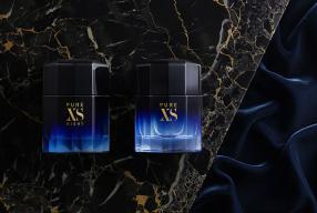 Usez de tout votre charme avec l'eau de parfum PURE XS NIGHT, par PACO RABANNE!